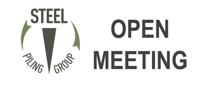 Steel Piling Group – Open Meeting