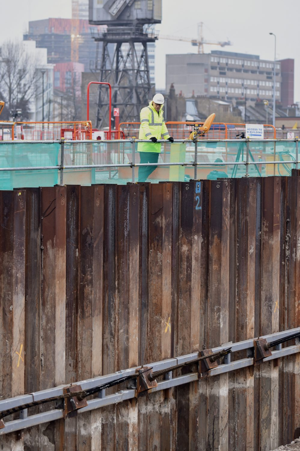 Steel Retaining Structures : Retaining walls steel piling group