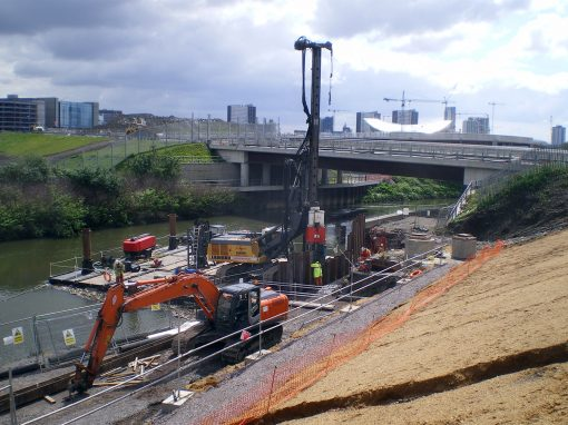 MARITIME CASE STUDY – RETAINING RIVERWALL