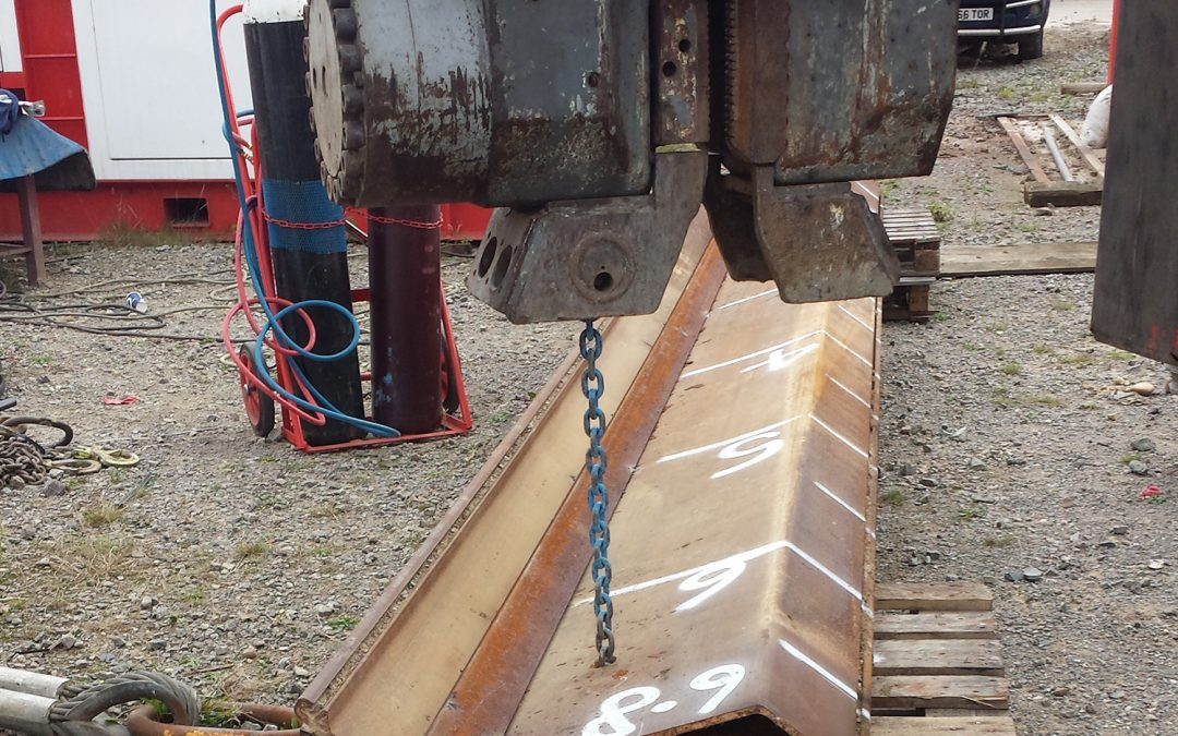 SUSTAINABILTY CASE STUDY – THERMAL STEEL SHEET PILES