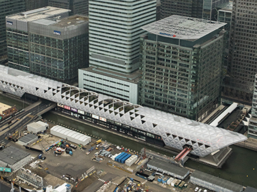 Rail Case Study – Canary Wharf Crossrail Station